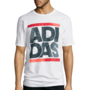 adidas® Split Spray Tee