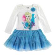 Disney by Okie Dokie® Frozen Tutu Dress - Preschool Girls 4-6x
