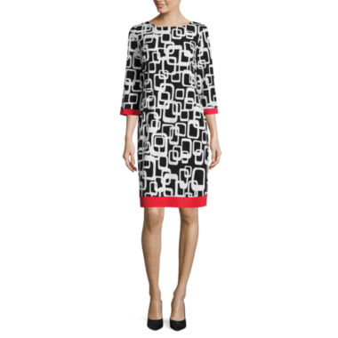 jcpenney.com | Ronni Nicole 3/4 Sleeve Shift Dress