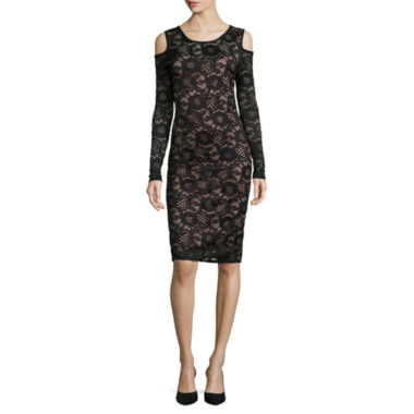 jcpenney.com | Jump Apparel Long Sleeve Sheath Dress-Talls