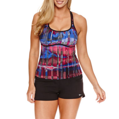 jcpenney.com | Nike ® Tie Dye Tankini or Solid Swim Shorts