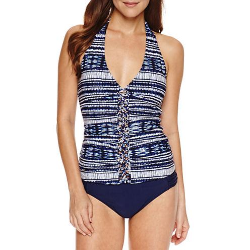 Ibiza Solid Tankini Swimsuit Top