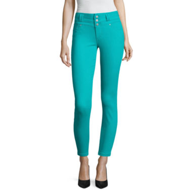 jcpenney.com | Blue Spice High Waist Ankle Skinny Pants Juniors