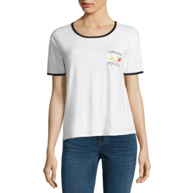 "jcpenney.com | Short Sleeve Scoop Neck ""The Lion King"" Graphic T-Shirt"