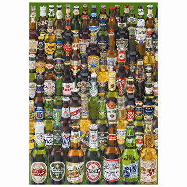 jcpenney.com | Educa®  1000-pc. Beers Jigsaw Puzzle