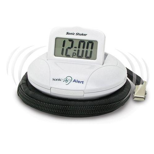 Sonic Alert SA-SBP100 Sonic Bomb Vibrating Travel Alarm Clock