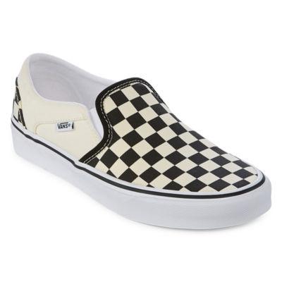 Vans Asher Slip On Womens Skate Shoes JCPenney 4b9627965
