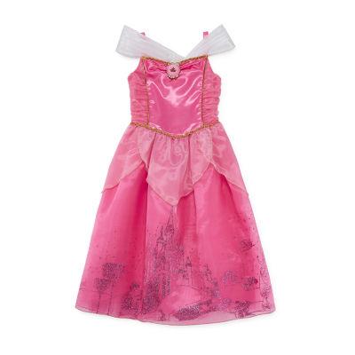 Girls Official Disney Princess Aurora Boutique Occasion Party Dress 3-24 Months