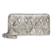 Liz Claiborne Long Zip-Around Wallet