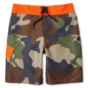 Arizona Camo Swim Trunks - Boys 6-20