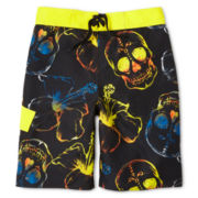 Arizona Skull City Swim Trunks - Boys 6-20