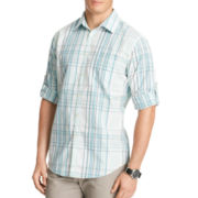 Van Heusen® Plaid Seersucker Shirt