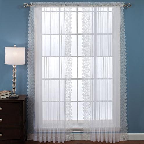 Deville Rod-Pocket Curtain Panels