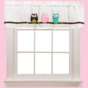 Owl Rod-Pocket Valance
