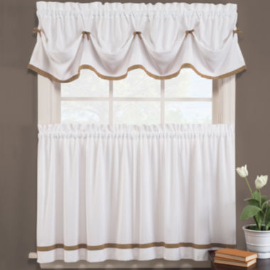 jcpenney.com | Kate Rod-Pocket Kitchen Curtains