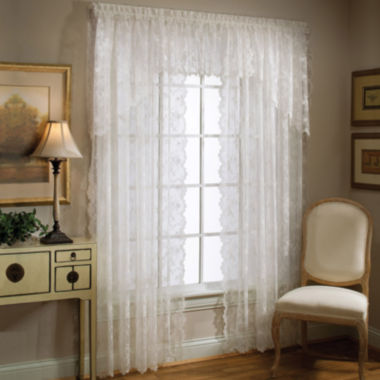 jcpenney.com | Petite Fleur Rod-Pocket Window Treatments
