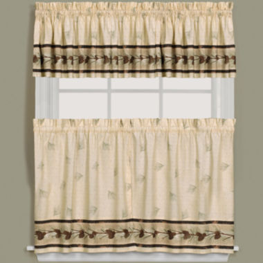 jcpenney.com | Pinehaven Rod-Pocket Kitchen Curtains