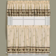 Pinehaven Rod-Pocket Kitchen Curtains