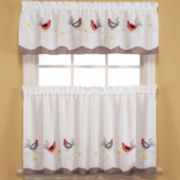 Wake Up Rod-Pocket Kitchen Curtains