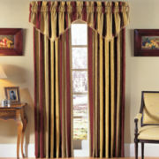 Waverly® Capulet Stripe Rod-Pocket Window Treatments