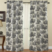 Waverly® Country Life Rod-Pocket Curtain Panel
