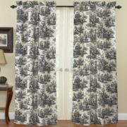Waverly® Country Life Rod-Pocket Curtain Panel