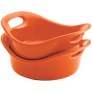 Rachael Ray® Bubble & Brown Set of 2 12-oz. Baking Dishes