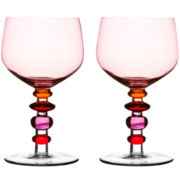 Spectra Set of 2 Wine Glasses