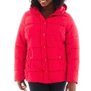 St. Johns Bay® Puffer Jacket - Plus