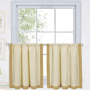 Wilton 2-Pack Rod-Pocket Window Tiers