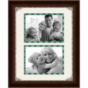 Single Mat Picture Frame with 2 Openings