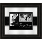 Together is Our Favorite Place To Be Picture Frame with 2 Openings