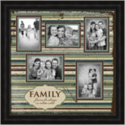 Family Picture Frame with 5 Openings
