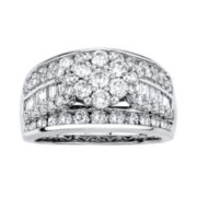 1⅕ CT. T.W. Diamond 14K White Gold Bridal Ring
