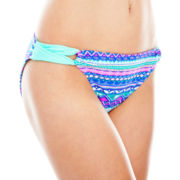 Arizona Tribal Print Side-Loop Hipster Swim Bottoms - Juniors