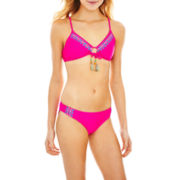 L'Amour by Nanette Lepore Embroidered Swim Separates - Juniors
