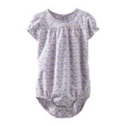 OshKosh B'gosh® Short-Sleeve Floral Bodysuit – Girls 3m-24m