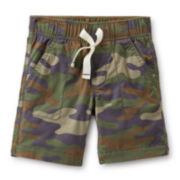 Carter's® Poplin Camo Shorts - Boys 6-24m