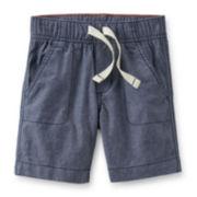 Carter's® Chambray Poplin Shorts - Boys 6-24m