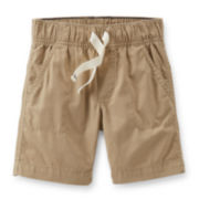 Carter's® Poplin Khaki Shorts – Boys 4-7