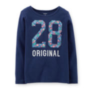 Carter's® Long-Sleeve Original Graphic Tee – Girls 4-6x