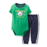 Carter's® 2-pc. Short-Sleeve Bodysuit and Pants Set – Boys newborn-24m