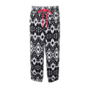 Pinky Allover Print Drawstring Pants - Girls 4-6x