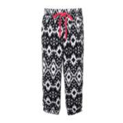 Pinky Allover Print Drawstring Pants - Girls 4-6x