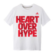 adidas® Short-Sleeve Knit Graphic Tee - Boys 8-20