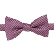 Stafford® Hastings Gingham Self-Tie Bow Tie