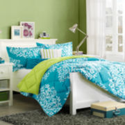Intelligent Design Monaco Floral Comforter Set