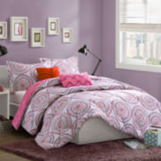 Mi Zone Amber Printed Softspun Comforter Set
