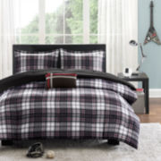 Mizone David Plaid Comforter Set