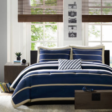 jcpenney.com | Mi Zone Garrett Striped Duvet Cover Set